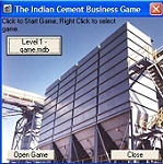 Cement Manufacturing FREE Business Game.